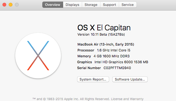 OS X Overview screenshot