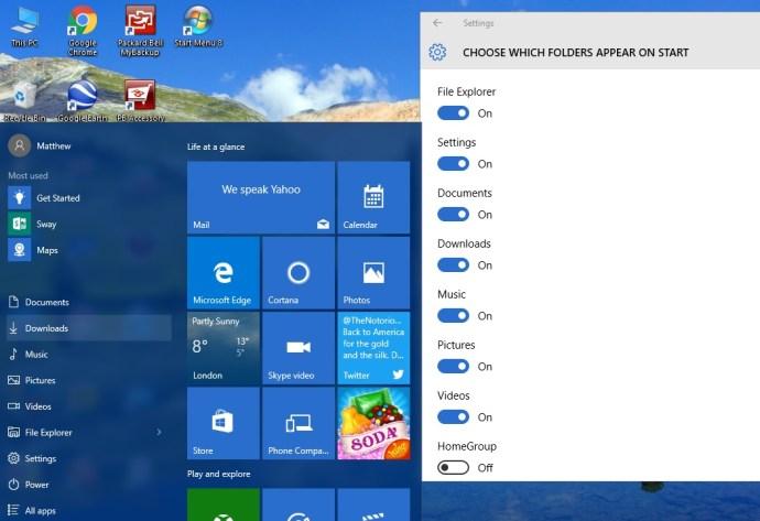 windows 10 start menu2