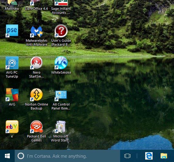 windows 10 taskbar 7