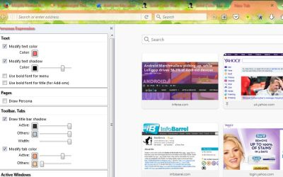 How to Customize and Add New Firefox Themes