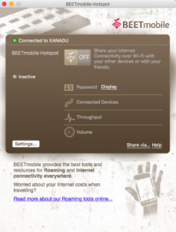 BEETmobile App for Mac