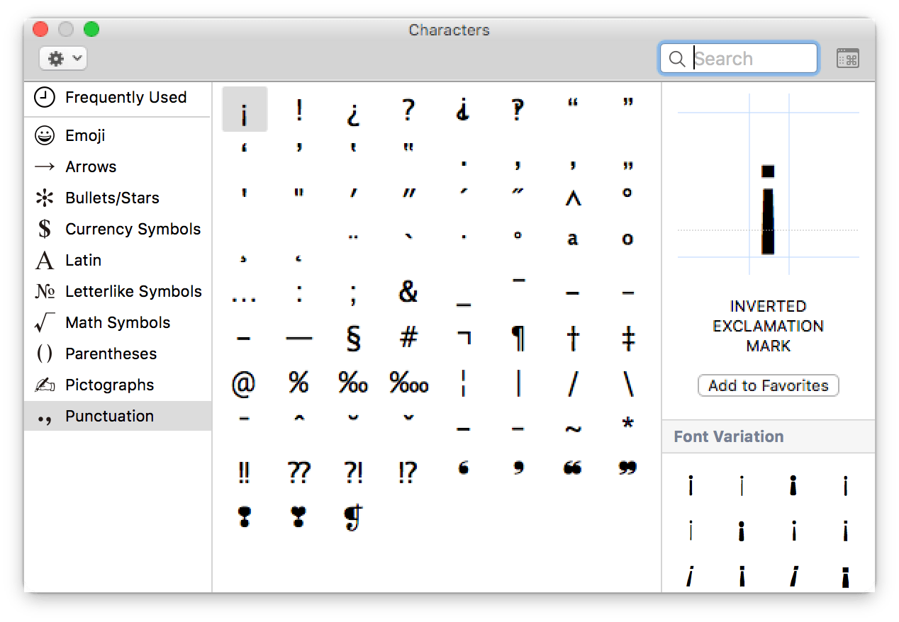 How to Find the Command Symbol and Other Technical Symbols