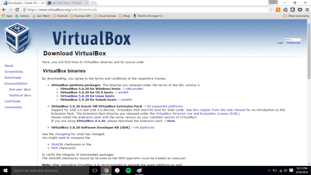 virtualbox-website