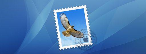 Mail Icon Aqua Background