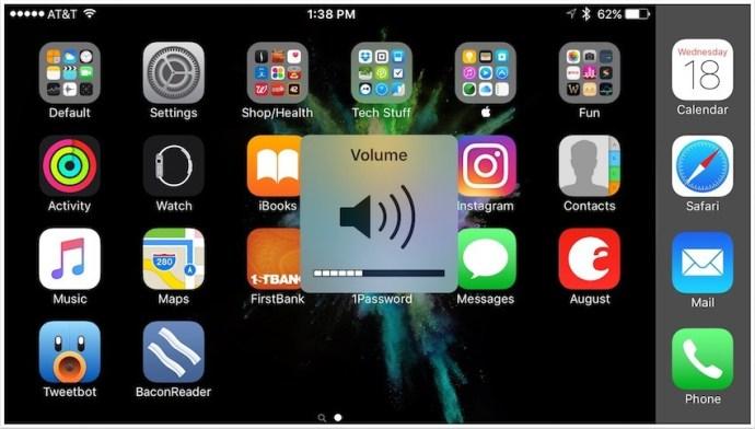 iPhone Volume Overlay