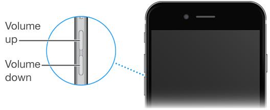 iphone volume controls