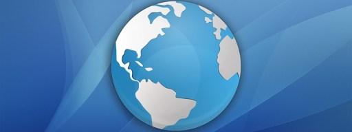 mac website globe icon
