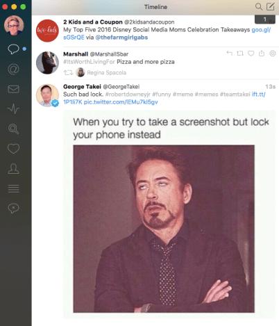 Tweetbot Timeline