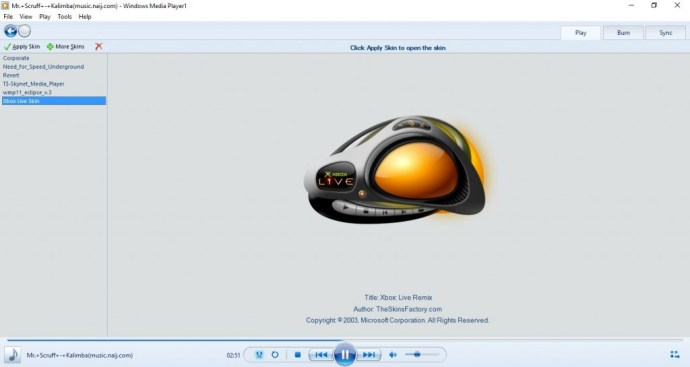 windows media player2