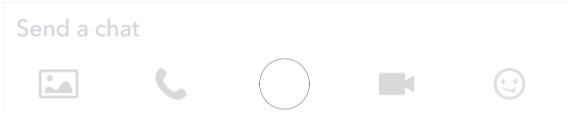Sending snapchat