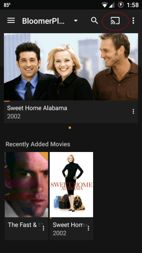 Chromecast icon Android