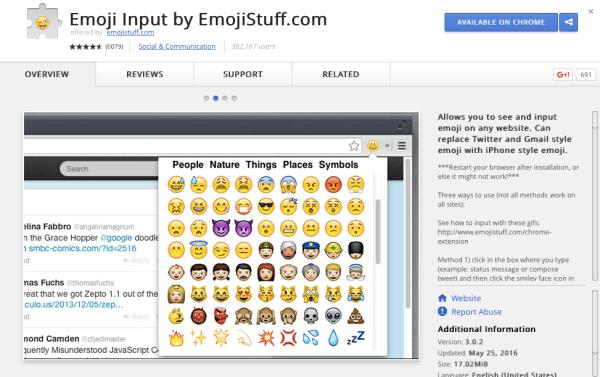 Emoji Input