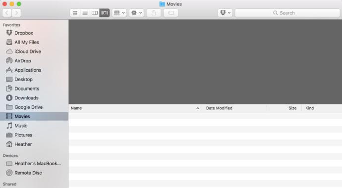 Siri opened folders