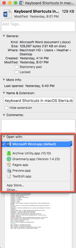 Select Default