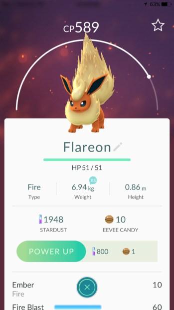 Eevee Flareon