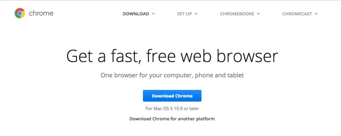 Get Chrome Browser