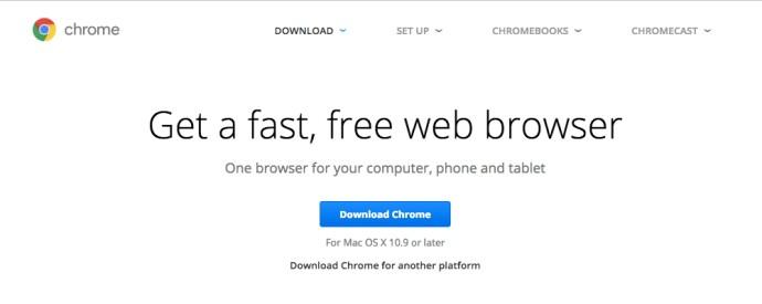 Get Chrome Browser