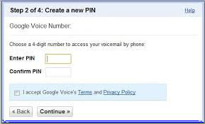 4-Digit PIN Google Voice