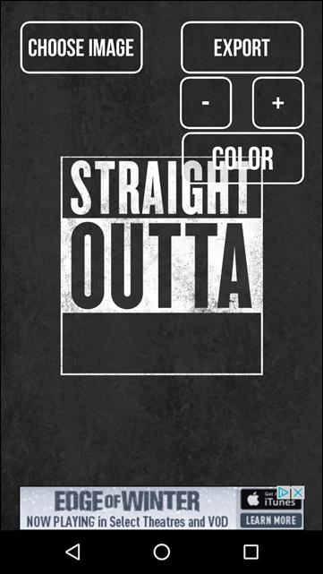 straightoutta