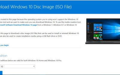 download windows 10 home to usb