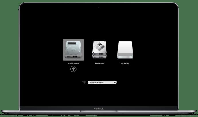 macbook boot menu