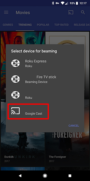 How To Use Popcorn Time with Chromecast