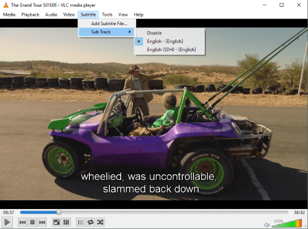 How to add subtitles in VLC media player-2