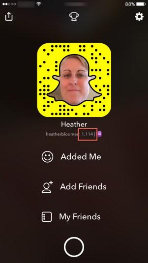 Snapchat Score
