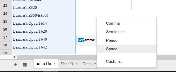 How to add columns in Google Sheets-2