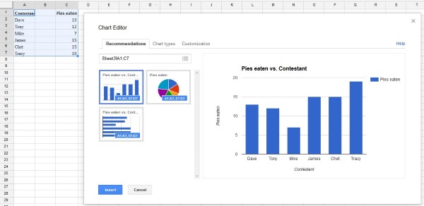 How to build maps in Google Sheets-2