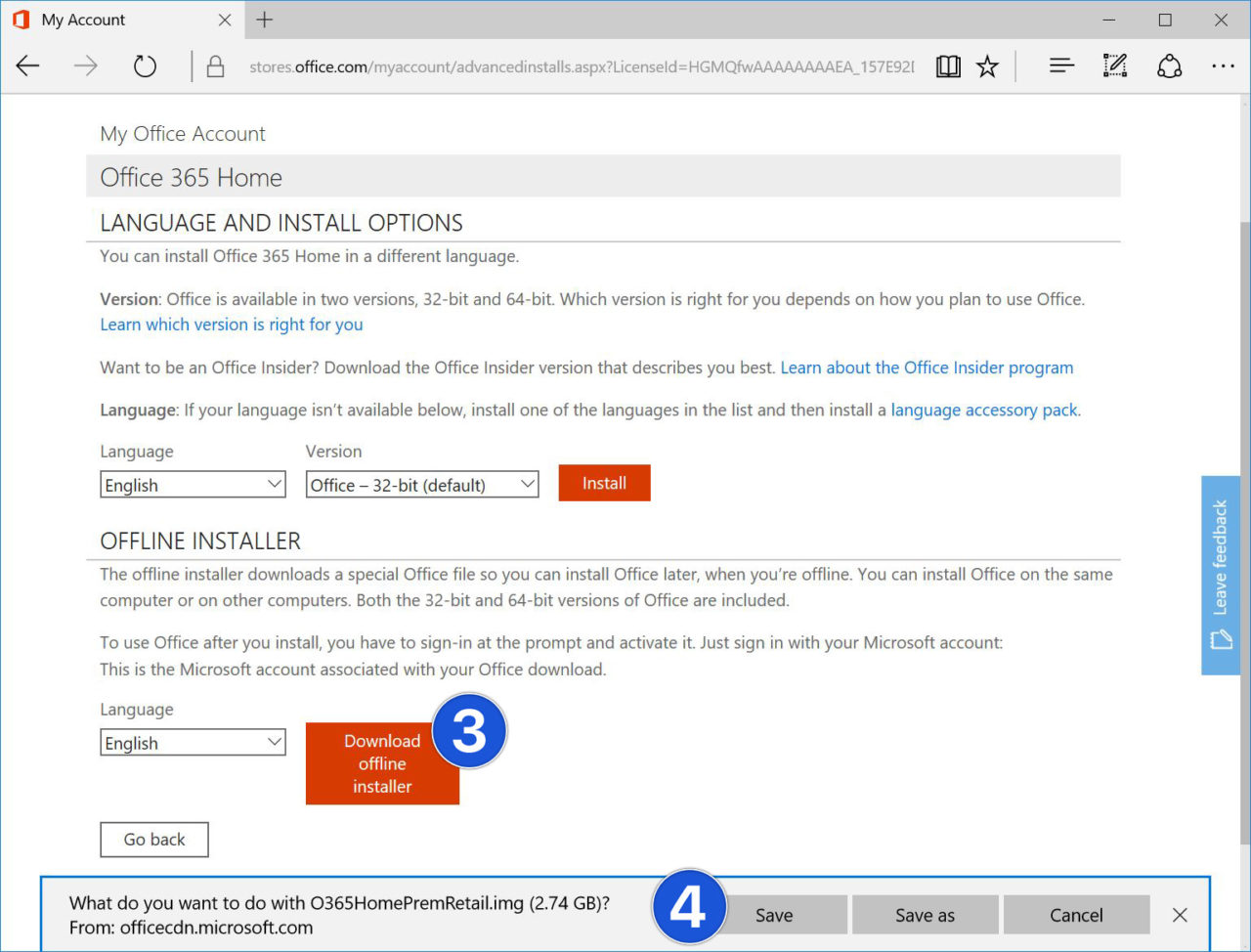 Office 365 Tip: How to Download the Office Offline Installer