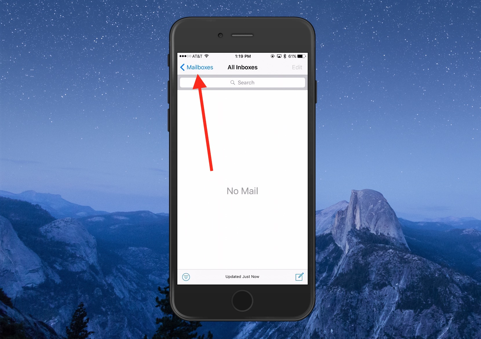 iphone mailbox