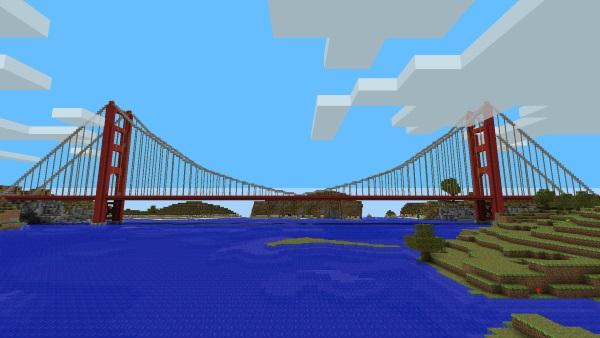 Top tips for building bridges in Minecraft2