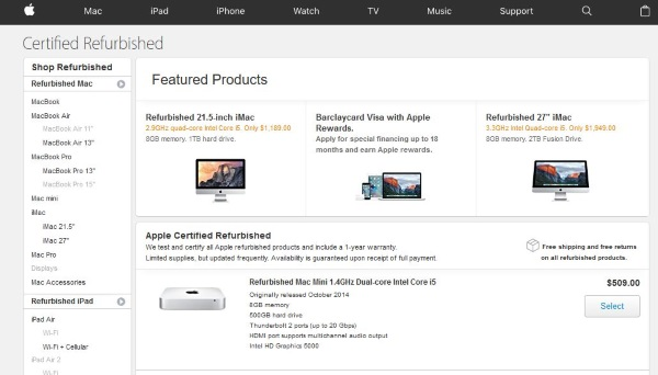 Where to buy refurbished Apple Macs2