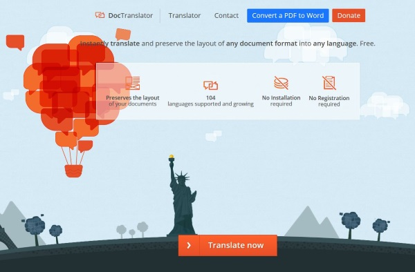 How to translate a PDF file2