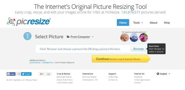 The best online tools to resize images2