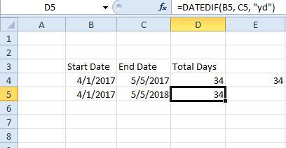 excel dates4