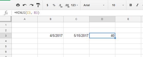 google dates