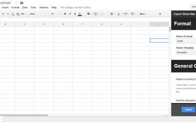 How To Convert Google Sheets Spreadsheets to XML