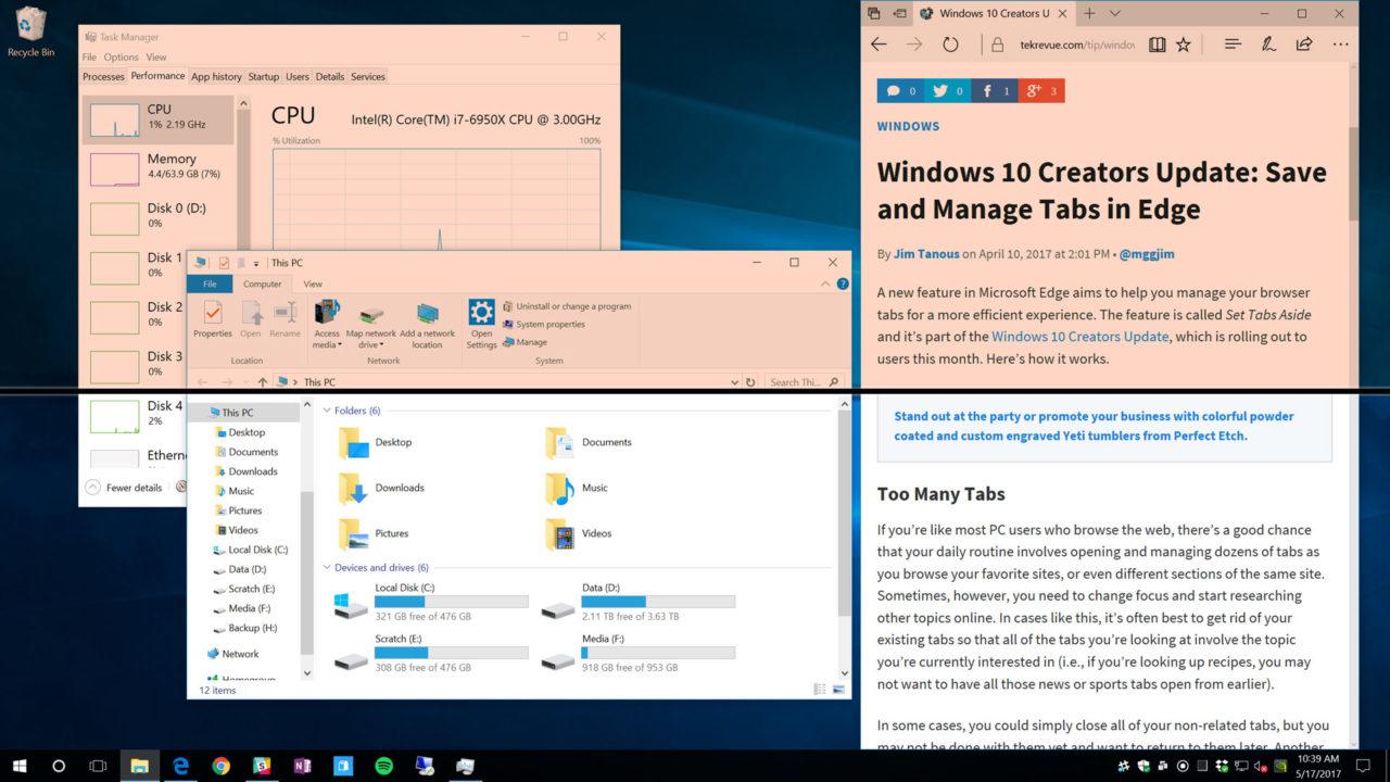 Reduce Computer Eye Strain With Windows 10 Night Light