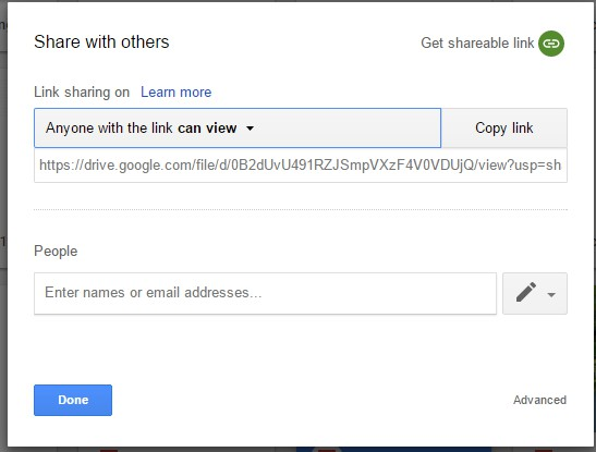 google drive how to delete shared files