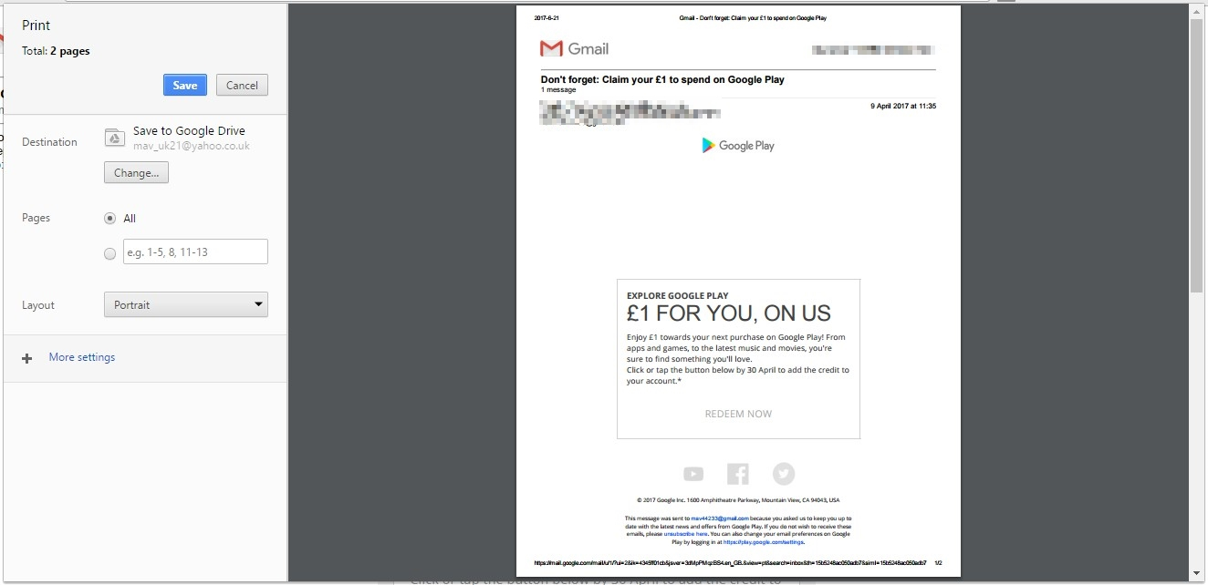 Gmail Emails As Pdf