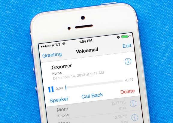 How to set up visual voicemail on iphone 6s plus