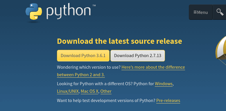 How to install Python in Windows 10