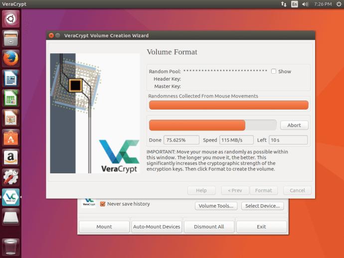 VeraCrypt Format