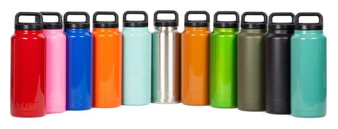 yeti bottle colors