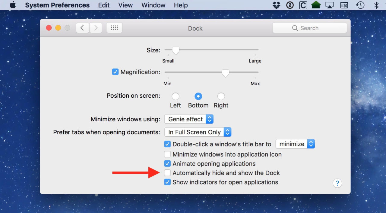 macOS: How to Quickly Hide the Dock with a Keyboard Shortcut