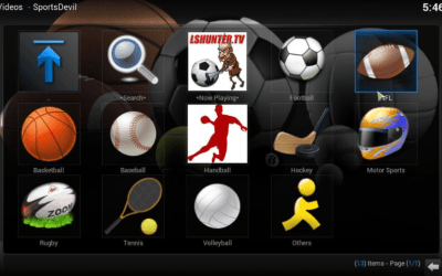 How To Watch The Nfl On Kodi