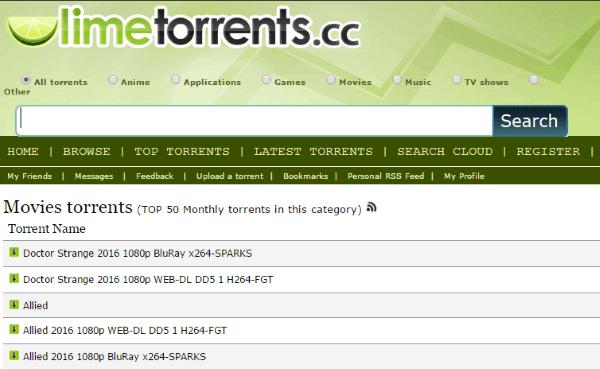 u torrents search engine download