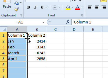 How To Swap Columns in Excel